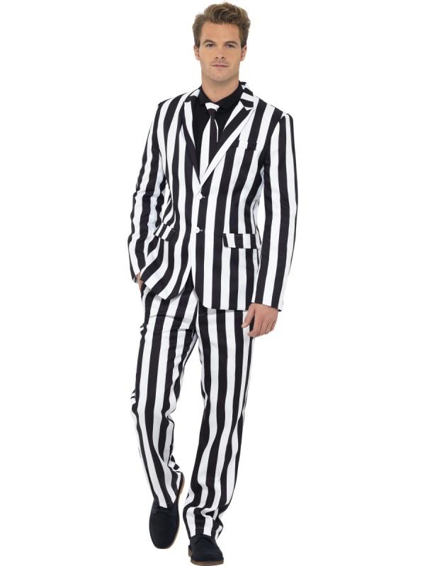 5fc21458a3 Pánský pruhovaný oblek - Půjčovna kostýmů Florenc